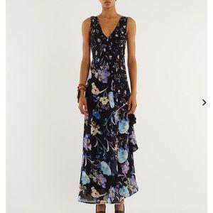 3.1 Phillip Lim Cutout Floral Tiered Maxi Dress